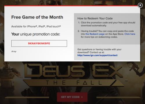 deus ex the fall 500x360 Téléchargez gratuitement le jeu Deus Ex: The Fall (au lieu de 5,99€)