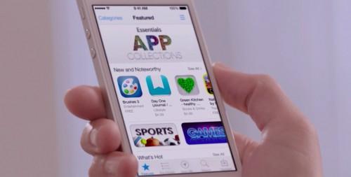 iOS 7 App Store 500x253 Fini les faux commentaires sur lApp Store
