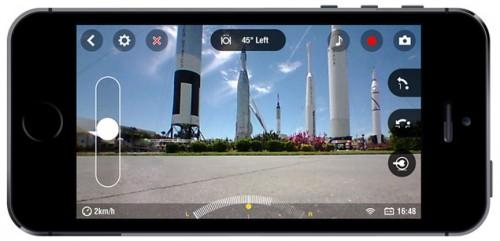 iphone5 jumping sumo 500x241 Parrot : Le Jumping Sumo et le Rolling Spider bientôt disponibles en France