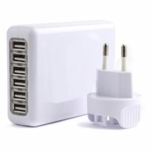 Adaptateur Secteur Universel de Voyage 6 ports USB BrainWizz 25W 5V 5A 300x300 Accessoire : Bon plan, Adaptateur Secteur Universel de Voyage 6 ports (14,95€)
