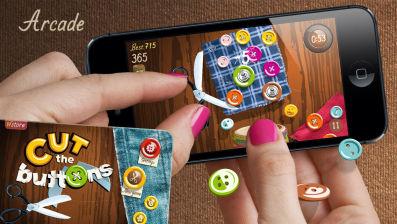 Cut the buttons Les bons plans App Store de ce jeudi 24 juillet 2014