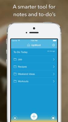 Upword Notes Les bons plans App Store de ce jeudi 24 juillet 2014
