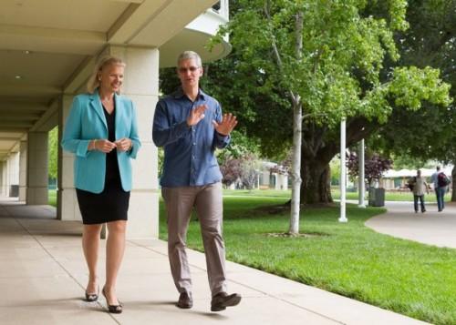 apple et ibm 500x357 Nouveau partenariat exclusif entre Apple et IBM