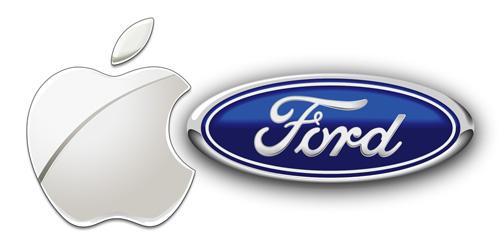 logo apple ford Ford abandonne BlackBerry pour liPhone dApple