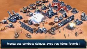 Star Wars : Commander (gratuit), disponible sur lApp Store