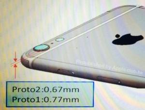 iPhone 6 appareil photo 300x228 iPhone 6 : un capteur photo plus épais que le reste ?