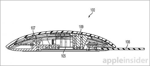 souris haptique1 500x221 Brevet Apple : une souris avec capteurs de force et retour haptique