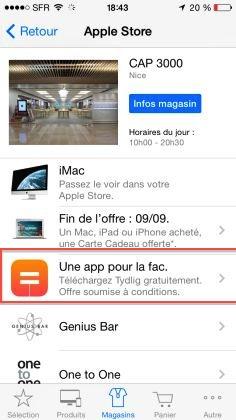 tydlig apple store [MAJ : Explications] Apple vous offre lapplication Tydlig dune valeur de 2,99€