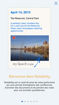 2014 09 21 21.16 Notability (2,69€) : Tout pour la prise de notes !