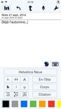 2014 09 21 21.19 Notability (2,69€) : Tout pour la prise de notes !