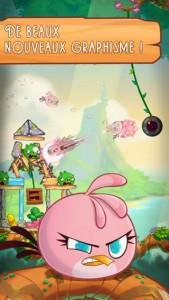 Angry Birds Stella (gratuit) : le nouvel opus de la série est disponible