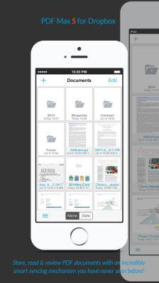 PDF Max dropbox Les bons plans App Store de vendredi 9 janvier 2015