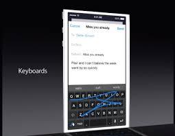 claviers A la découverte des nouveaux claviers d'iOS 8