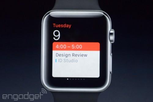 iwatch 14 500x333 Apple Watch : une montre dun nouveau genre à partir de 349$