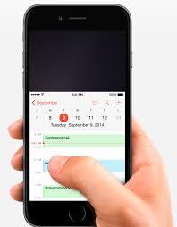 reachability1 Reachability : la trouvaille d'Apple pour naviguer d'une main sur l'iPhone 6
