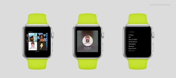 Apple Watch 1 Des designers s'éclatent sur les applis pour Apple Watch