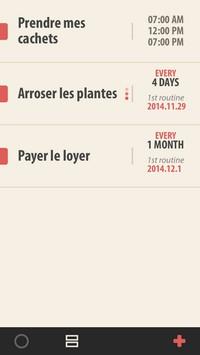 2014 11 28 11.12 Routina (0,89€) : La planification des tâches récurrentes ultra simplifiée