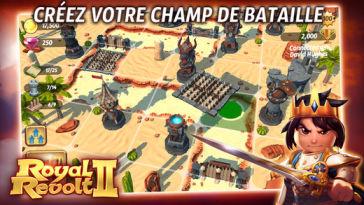 Royal Revolt 2 L'application gratuite du Jour : Royal Revolt 2   un excellent jeu daventures !