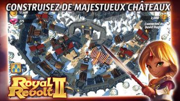 Royal Revolt 3 L'application gratuite du Jour : Royal Revolt 2   un excellent jeu daventures !
