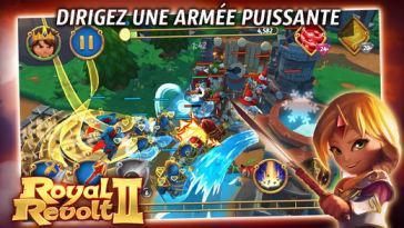 Royal revolt 1 L'application gratuite du Jour : Royal Revolt 2   un excellent jeu daventures !