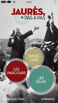 2014 11 30 22.04 Jaurès Pas à Pas (Gratuit) : Un documentaire mobile de grande qualité !