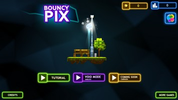 2015 01 27 17.02 BouncyPix (0,99€) : Un jeu de plateformes Minecraftien lumineux...