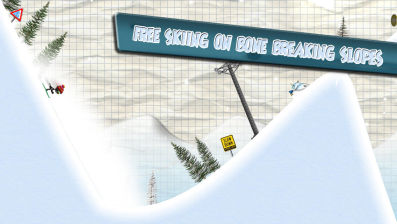 Stickman ski Les bons plans App Store de vendredi 9 janvier 2015