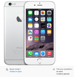 delaisiphone6 Les iPhone 6 disponibles immédiatement