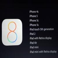 iOS8keynote une iOS 8.1.3 testé en Apple Store, après la bêta 8.2
