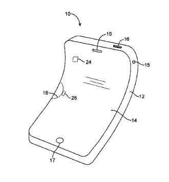 iphone flexible 1 Apple travaille sur un iPhone flexible