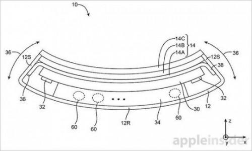 iphone flexible 2 500x300 Apple travaille sur un iPhone flexible