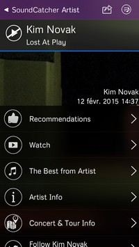2015 02 12 14 SoundCatcher (1,99€) : Un Shazam like performant mais payant...