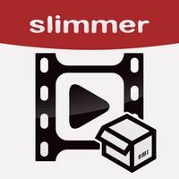 Video Slimmer App Video Slimmer App (2,99€) : Réduisez dau moins 80% le poids de vos vidéos...