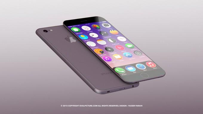 concept iphone 7 1 Un iPhone 7 encore plus fin sort de la tablette d'un designer