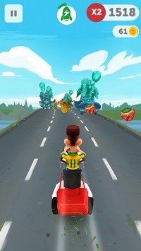 2015 03 09 10.08 Run Forrest Run (Gratuit) : Un endless game coloré et rythmé