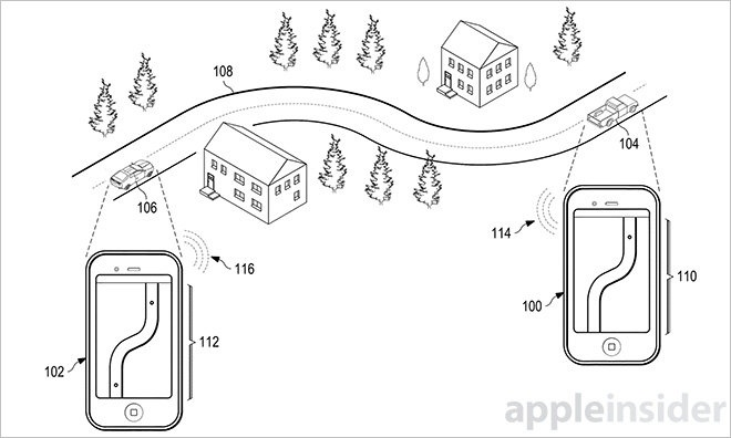 brevet gps Apple sur la route avec Big Brother