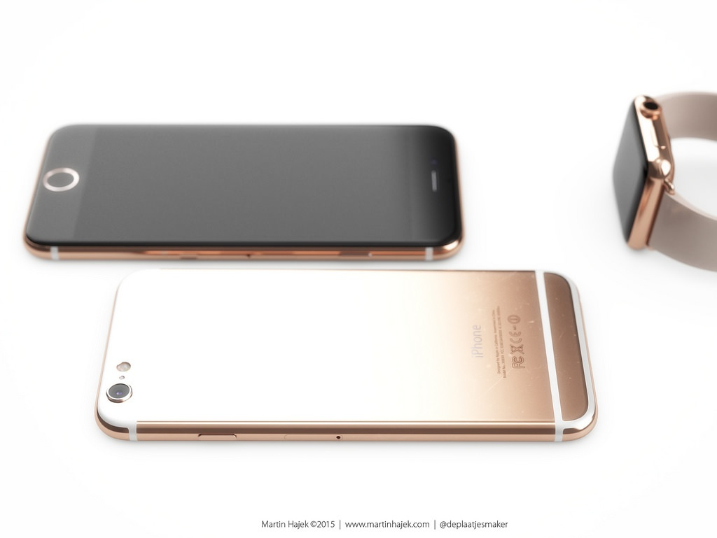 iphone6S rose hajek Un iPhone 6S Edition Force Touch en vente en septembre ?