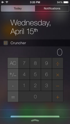 Cruncher Les bons plans App Store de ce dimanche 26 avril 2015