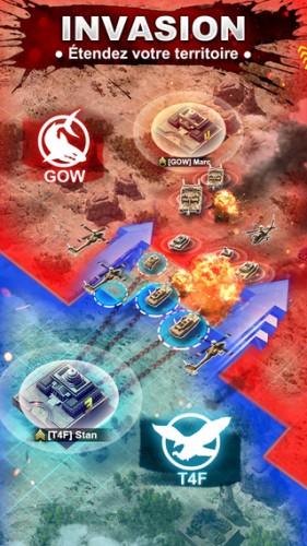 Lapplication gratuite du Jour : War Zone World of Rivals