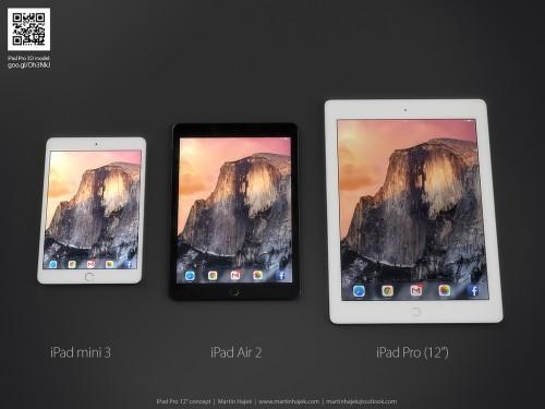 ipadairplus concept 1 500x375 Le futur iPad Air Plus ferait entrer Force Touch chez les tablettes