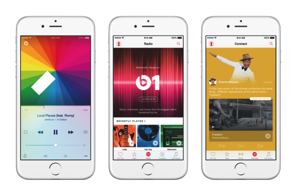applemusic officiel 22 Apple Music arrivera en fin d'après midi !