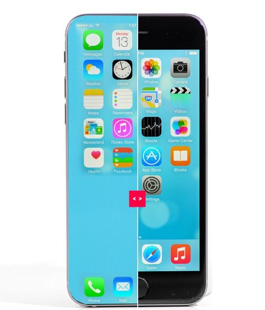 iphone ecranintegral iPhone : le compte à rebours vers l'écran intégral a commencé
