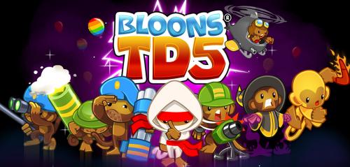 Bloons1 500x239 Téléchargez gratuitement le jeu Bloons TD 5 (au lieu de 2,99€)