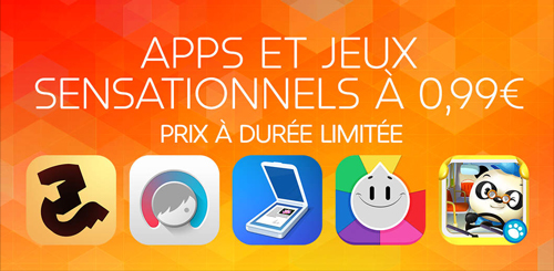 promo App Store 099 Bons plans : 24 applications en promotion à 0,99€ sur lApp Store