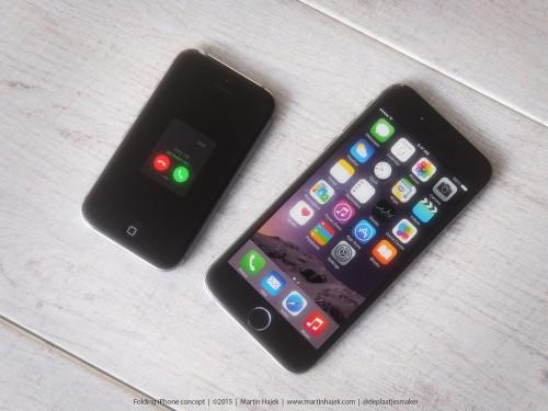 clapet3 500x375 Concept : un iPhone à clapet