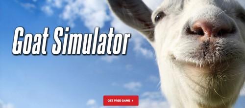 goat simulator 1 500x221 Téléchargez gratuitement le jeu Goat Simulator (au lieu de 4,99€)