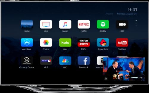appletv 2 500x314 Concept : une nouvelle interface pour lApple TV